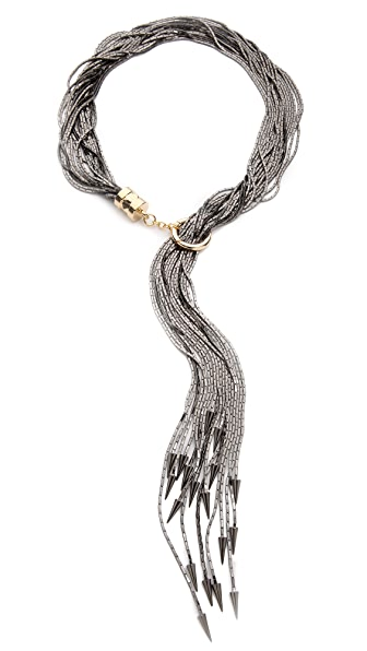 Fallon Jewelry Liquid Tail Lariat Necklace