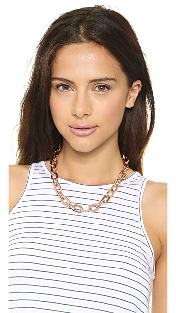 Fallon Jewelry Shalom Long Link Choker