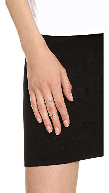 Fallon Jewelry Infinity Bent Ring