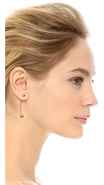 Fallon Jewelry Shalom Ball Earrings