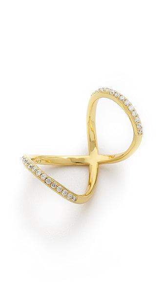 Fallon Jewelry Pave Infitiny Ring