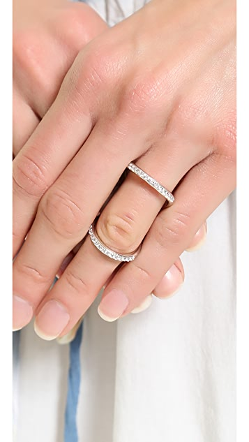 Fallon Jewelry Pave Infinity Ring