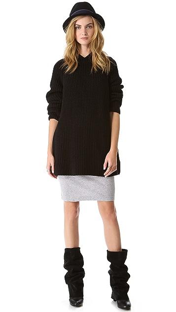 525 America Cotton Shaker Hooded Sweater