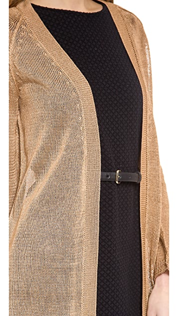 525 America Linen Maxi Cardigan