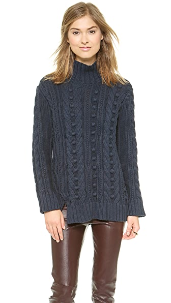 525 America Popcorn Turtleneck Sweater