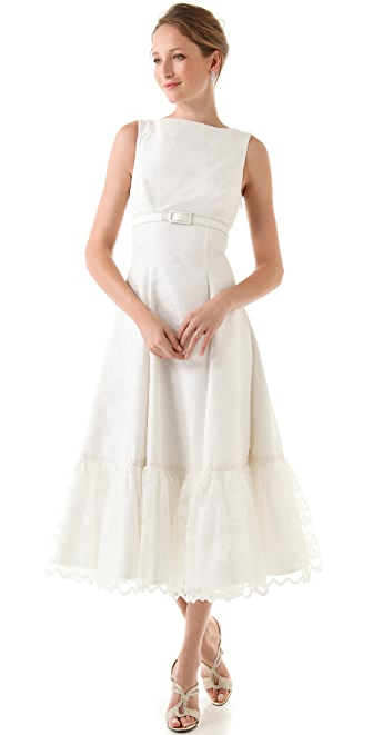 Fancy Shirley Sleeveless Dress with Belt