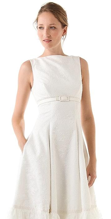 Fancy Shirley Sleeveless Dress with Belt
