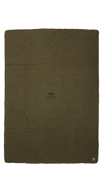 Faribault Woolen Mills Foot Soldier Blanket