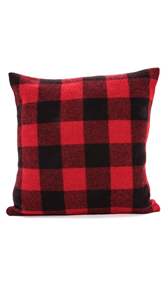 Faribault Woolen Mills Buffalo Check Pillow