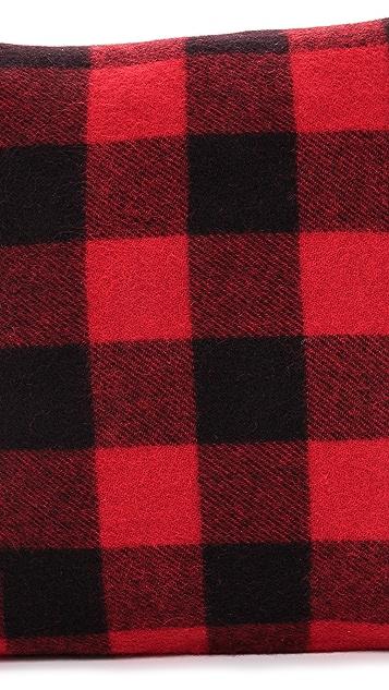 Faribault Woolen Mills Buffalo Check Pillow