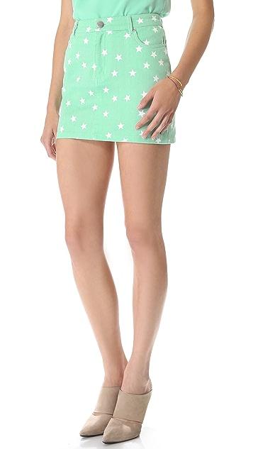 Friends & Associates Camilla Denim Miniskirt