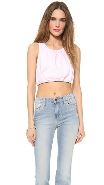 Friends & Associates Daffodil Cropped Tank