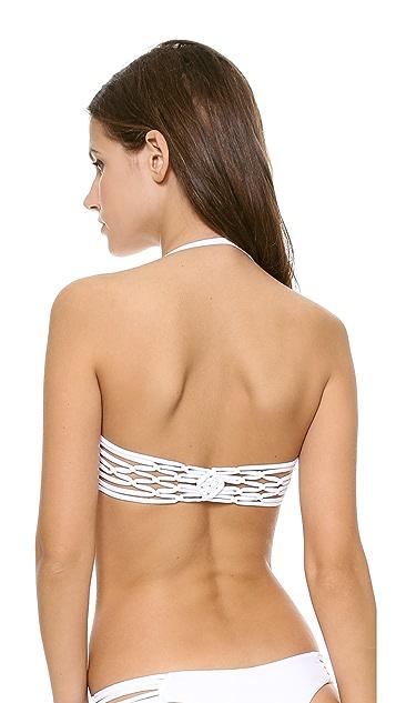 Frankies Bikinis Willow Bandeau Bikini Top