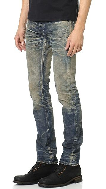 Fabric Brand & Co. Beta Slim Selvedge Jeans