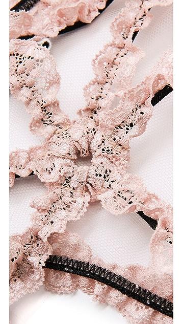 Fleur du Mal Lace Bondage Panties