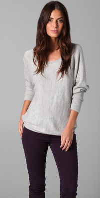 Feel The Piece Airy Scoop Neck Sweater