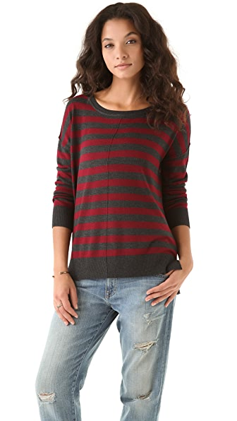 Feel The Piece Striped Sweater