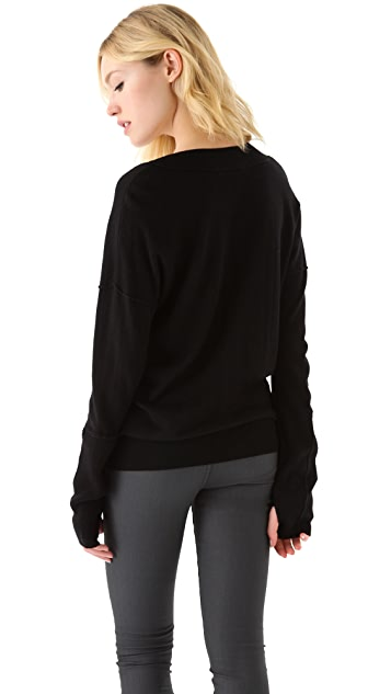 Feel The Piece V Neck Sweater
