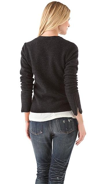 Feel The Piece Biker Sweater