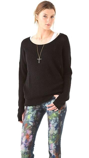 Feel The Piece Asymmetrical Sweater