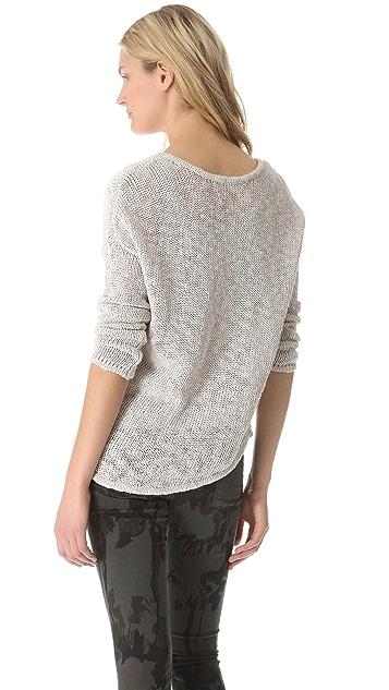 Feel The Piece Hi Lo Sweater