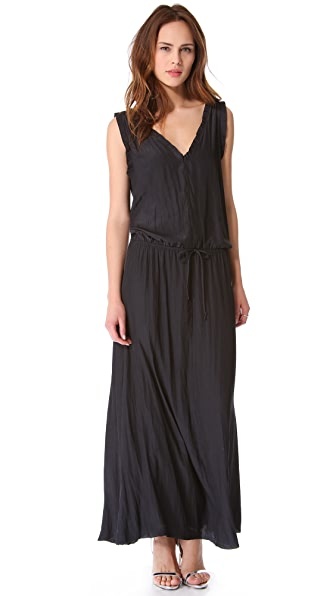 Feel The Piece Drawstring Maxi Dress