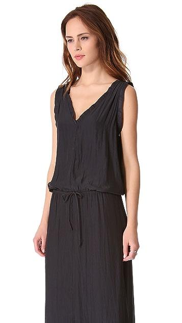 Feel The Piece Drawstring Maxi Dress