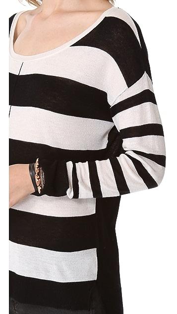Feel The Piece Multi Stripe Sweater