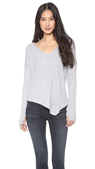 Feel The Piece Cashmere Asymmetrical Sweater