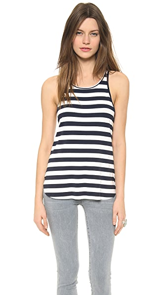 Feel The Piece Striped Robby Tank