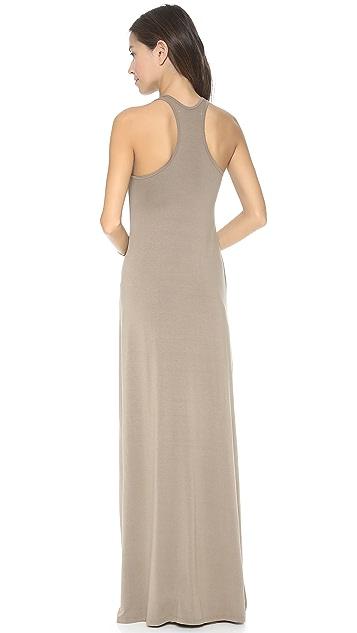 Feel The Piece V Neck Maxi Dress