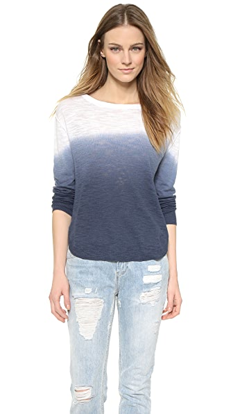 Feel The Piece Sami Lightweight Dip Dye Sweater