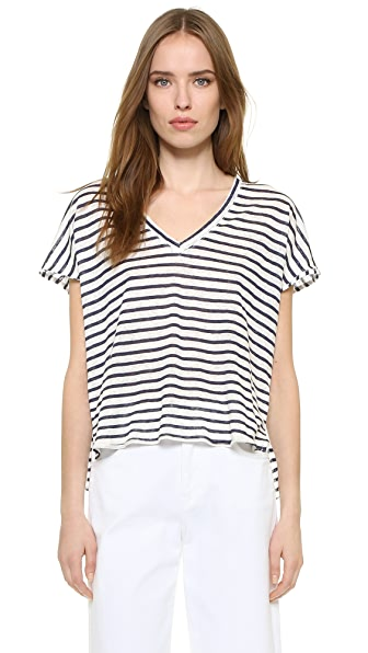 Feel The Piece Adriana Striped Tee