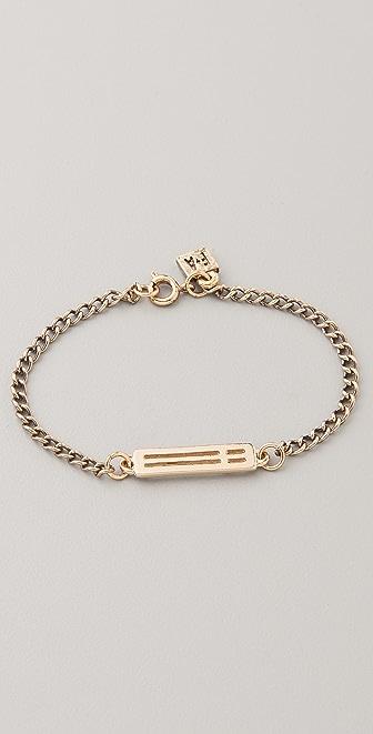 FELIKS+ADRIK Cutout Cross Bracelet