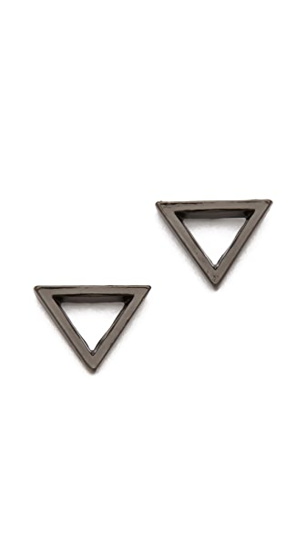 FELIKS+ADRIK Cutout Triangle Earrings