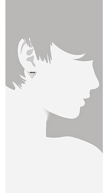 FELIKS+ADRIK Cutout Triangle Earrings