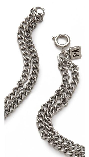 FELIKS+ADRIK Python Bib Necklace