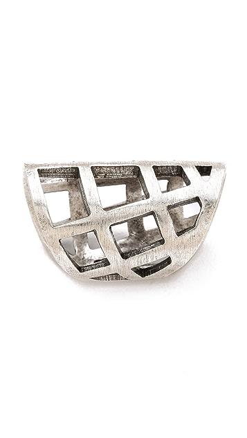 FELIKS+ADRIK Cutout Shell Ring