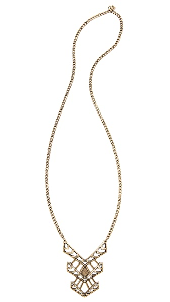 FELIKS+ADRIK Cutout Turritella Pendant Necklace