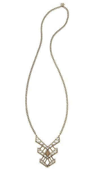 FELIKS+ADRIK Cutout Turritella Pendant Necklace