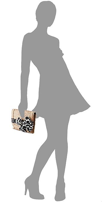 Felix Rey Miss Priss Leopard Clutch