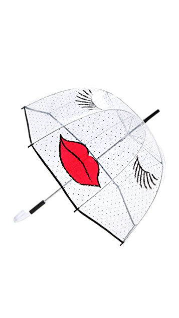 Felix Rey Kissy Face Umbrella