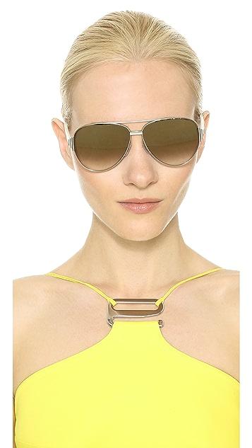 Fendi Aviator Sunglasses