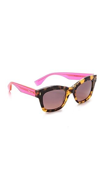 Fendi Thick Frame Sunglasses