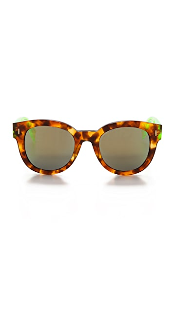 Fendi Mirrored Sunglasses