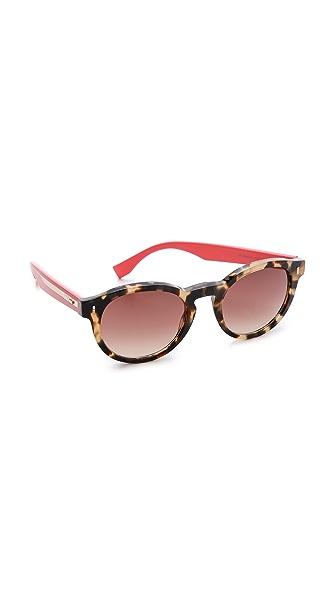 Fendi Tortoise Bright Side Sunglasses