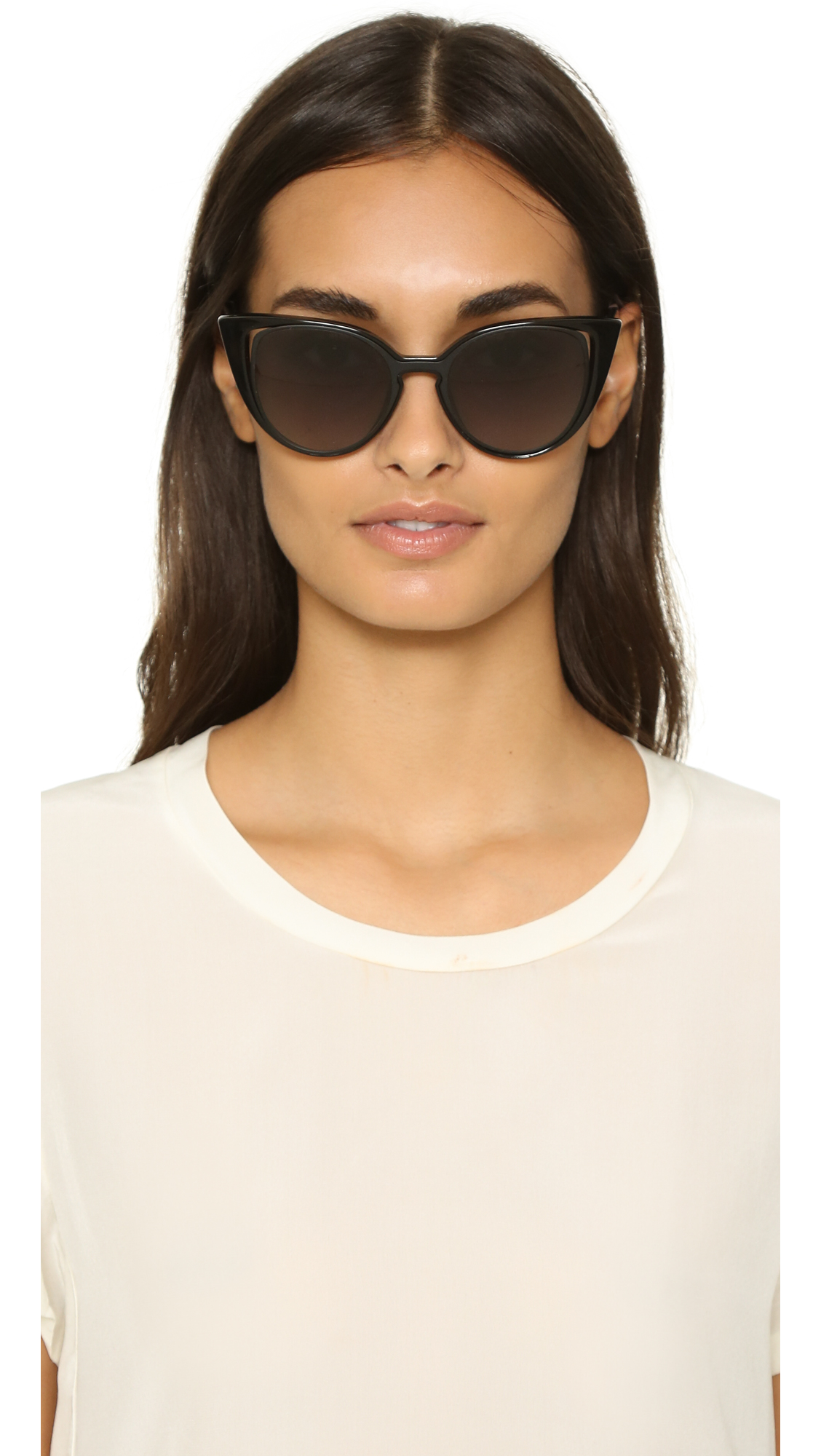 cat eye sunglasses - Black Fendi IwddhI