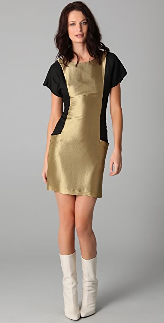 Fernando Frisoni Gold Badu Dress