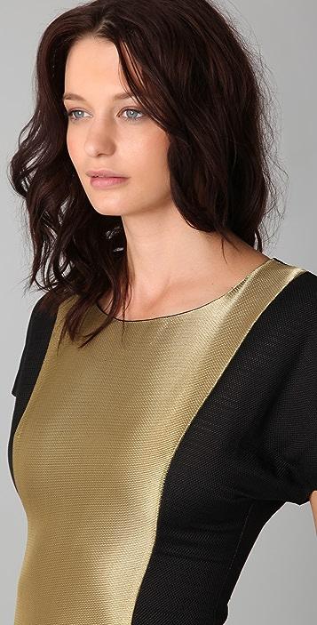 Fernando Frisoni Gold Badu Dress
