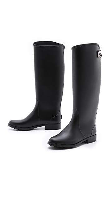 Salvatore Ferragamo Ruben Rain Boots